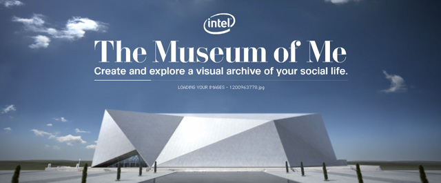 Intel's Meuseum of Me with Facebook