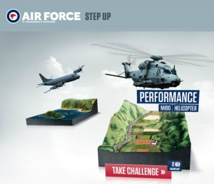 RNZAF Step up