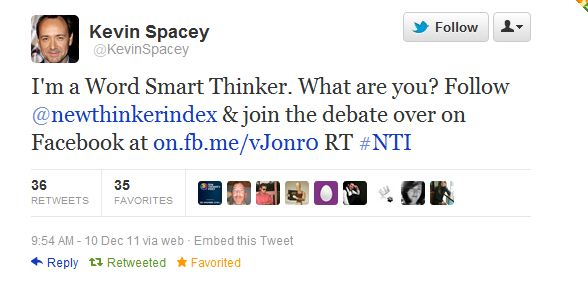 Spacey Twitter