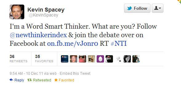 Spacey Twitter