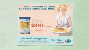 Carrefour Italy &quot;Back to &#039;61&quot;
