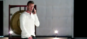 David Beckham + Samsung Galaxy