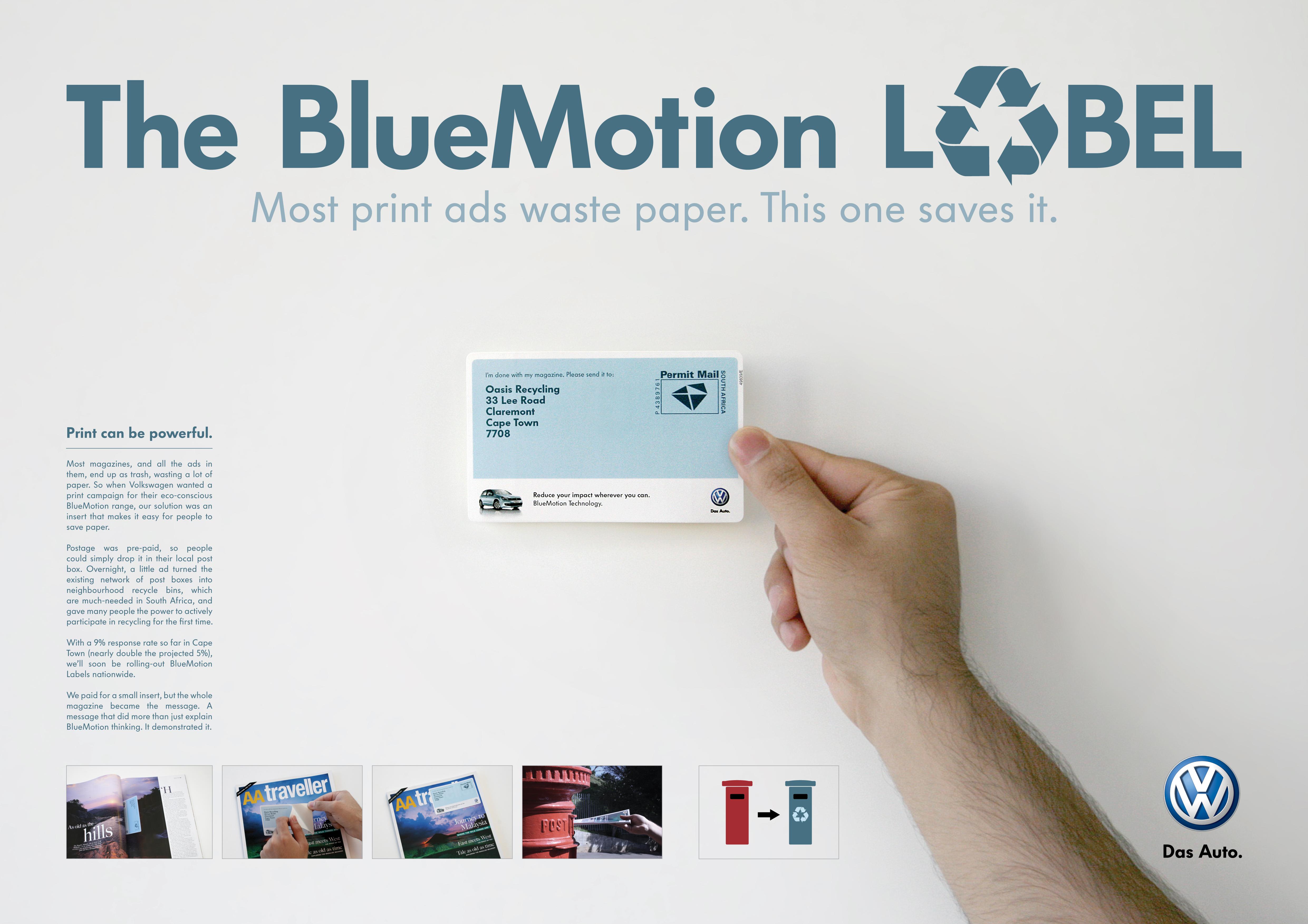 Bluemotion Label Direct_Promo_Media