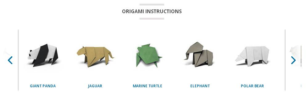 WWF Together origami