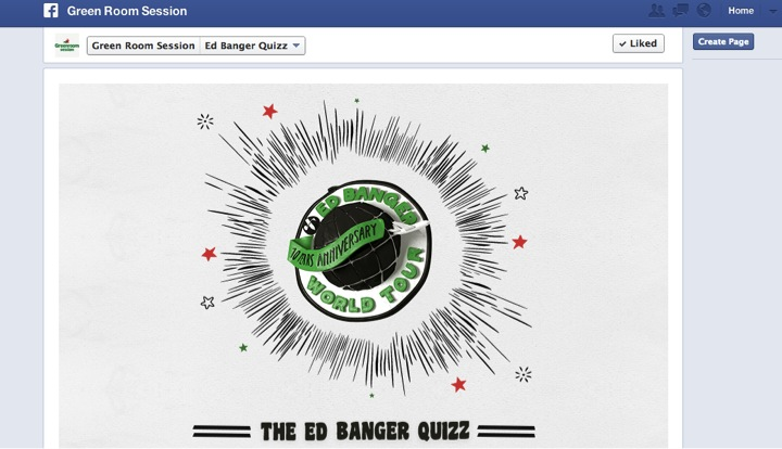 Green Room FB Ed Banger