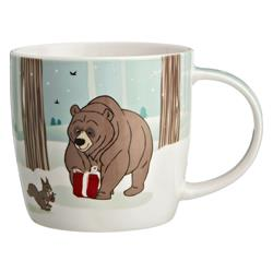John Lewis Bear and Hare Mug in a Tin