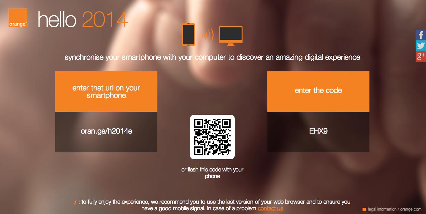 portal orange hello 2014